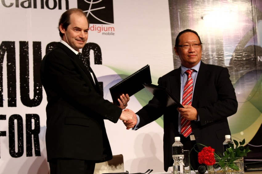Clarion and Prodigium Mobile sign MoU for in-car DRM-free MP3 music store in Malaysia – 18,000,000 songs! Image #100151