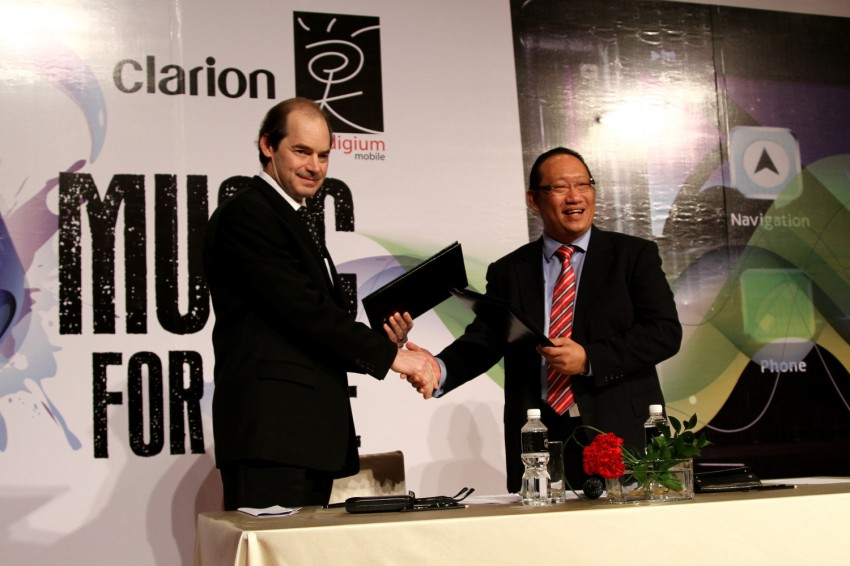 Clarion and Prodigium Mobile sign MoU for in-car DRM-free MP3 music store in Malaysia – 18,000,000 songs! Image #100152