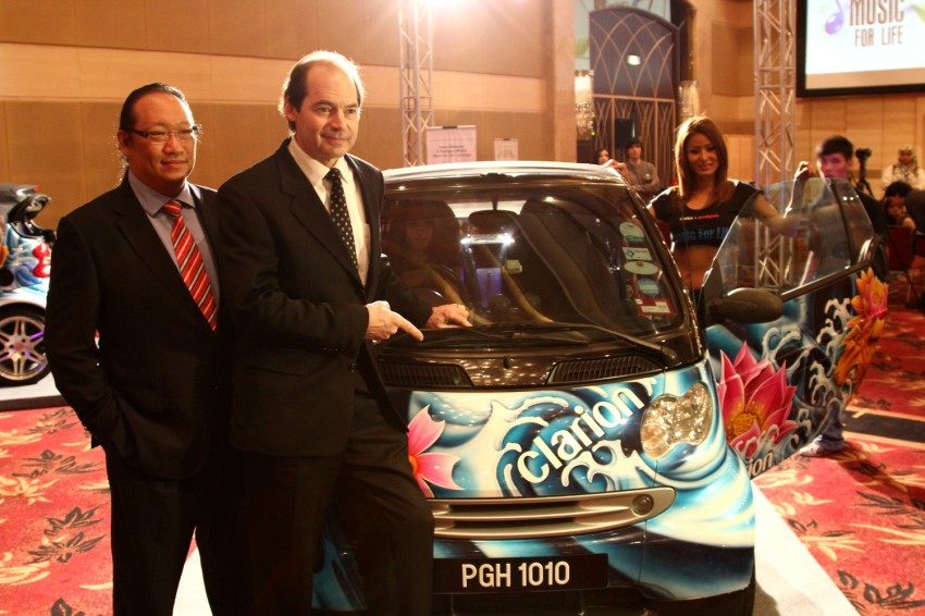 Clarion and Prodigium Mobile sign MoU for in-car DRM-free MP3 music store in Malaysia – 18,000,000 songs! Image #100164