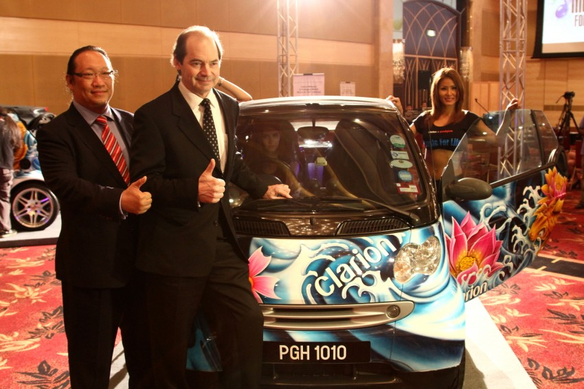 Clarion and Prodigium Mobile sign MoU for in-car DRM-free MP3 music store in Malaysia – 18,000,000 songs! Image #100165