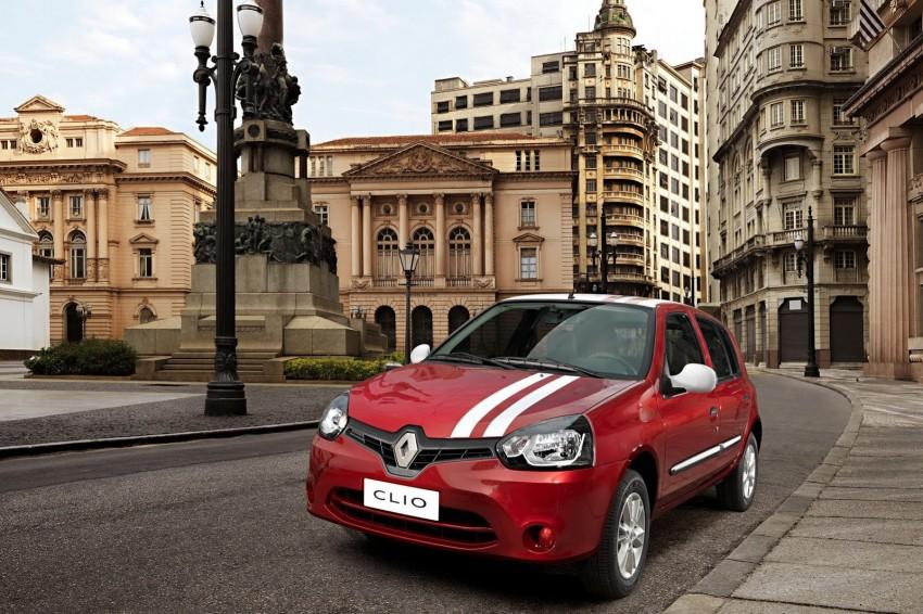 Renault Clio Mercosur – Clio IV nose on a Clio II Image #136691