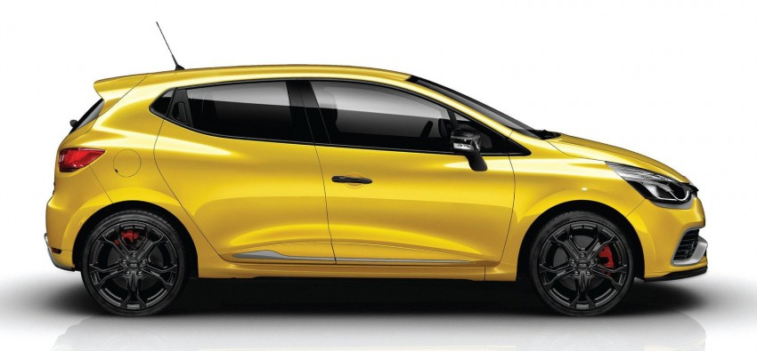 Renault Clio RS 200 Turbo: 200hp, 240Nm, dual-clutch Image #133593