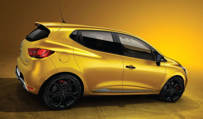 Renault Clio RS 200 Turbo: 200hp, 240Nm, dual-clutch Image #133594
