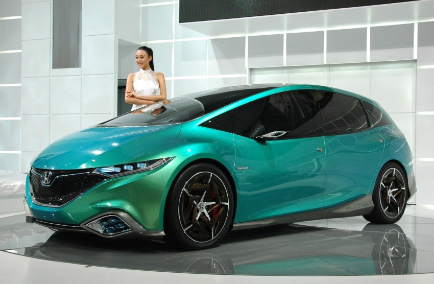 Honda Concept S and Concept C show Chinese style Image #103066