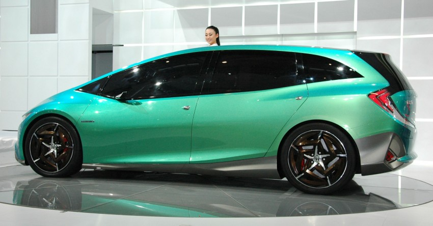 Honda Concept S and Concept C show Chinese style Image #103065