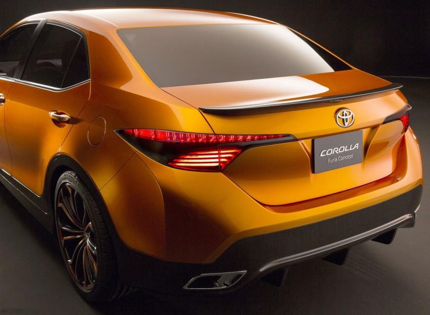 Toyota Corolla Furia Concept previews next-gen Corolla Altis – bigger body, edgier design Image #149892