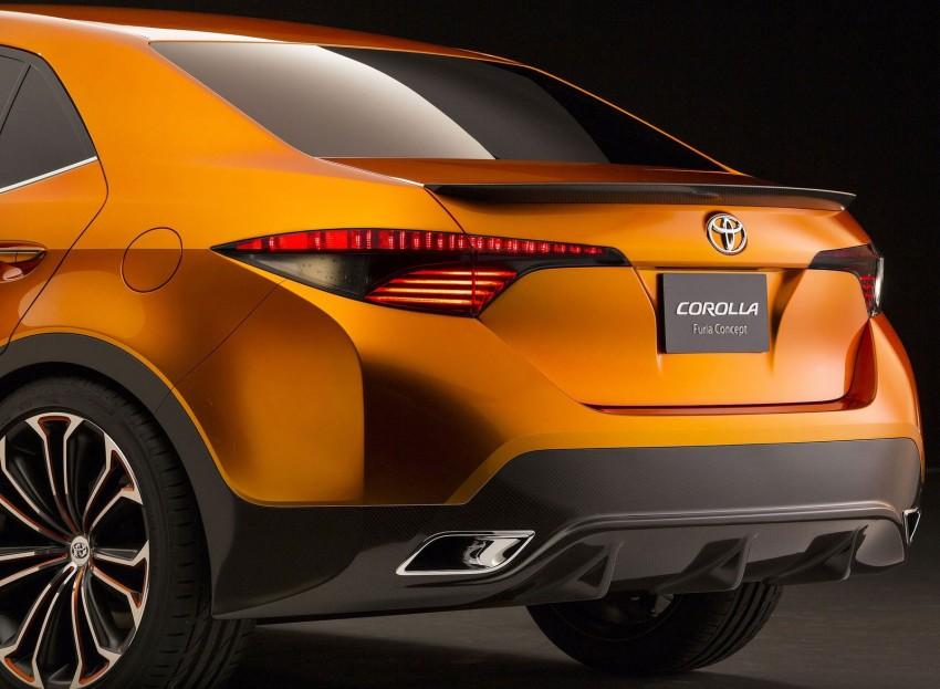 Toyota Corolla Furia Concept previews next-gen Corolla Altis – bigger body, edgier design Image #149894