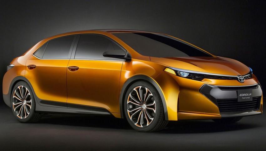 Toyota Corolla Furia Concept previews next-gen Corolla Altis – bigger body, edgier design Image #149901