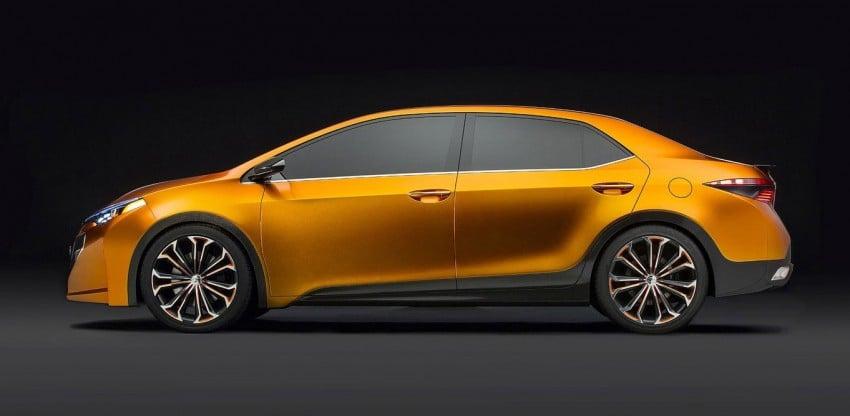 Toyota Corolla Furia Concept previews next-gen Corolla Altis – bigger body, edgier design Image #149902