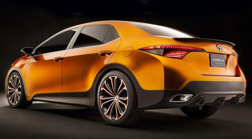 Toyota Corolla Furia Concept previews next-gen Corolla Altis – bigger body, edgier design Image #149903