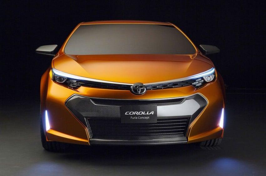 Toyota Corolla Furia Concept previews next-gen Corolla Altis – bigger body, edgier design Image #149904