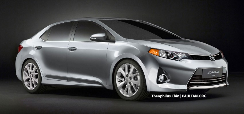 Next-gen Corolla renderings based on Furia Concept Image #150766
