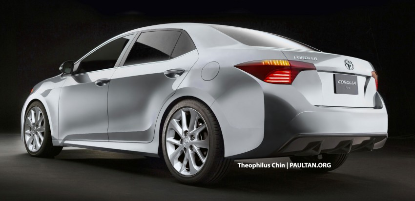 Next-gen Corolla renderings based on Furia Concept Image #150767