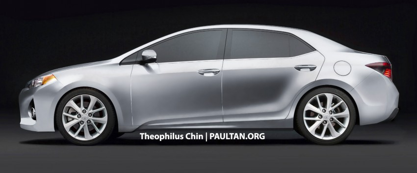 Next-gen Corolla renderings based on Furia Concept Image #150768