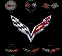 Corvette logo evolution