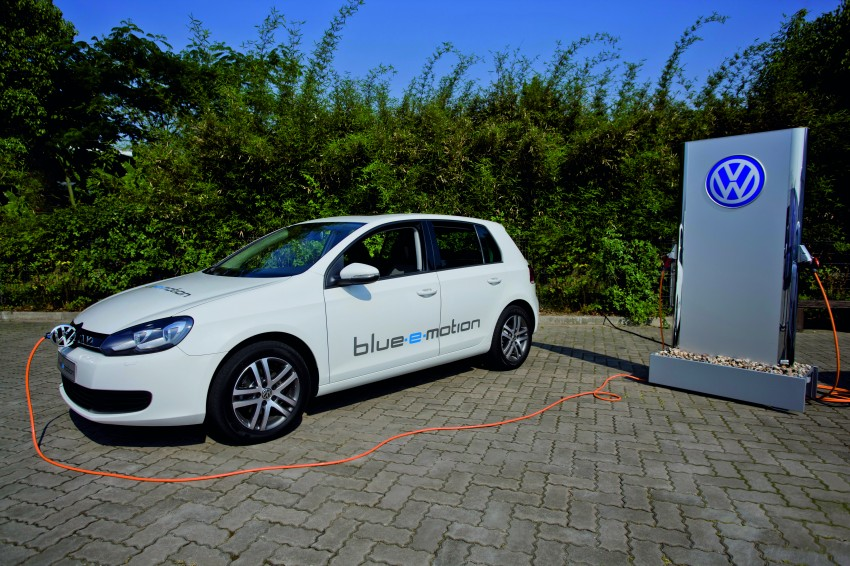 Electric Volkswagen Golf Blue-E-Motion prototype – a preview test drive in Wolfsburg, Germany Image #127814