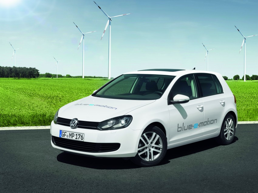 Electric Volkswagen Golf Blue-E-Motion prototype – a preview test drive in Wolfsburg, Germany Image #127823