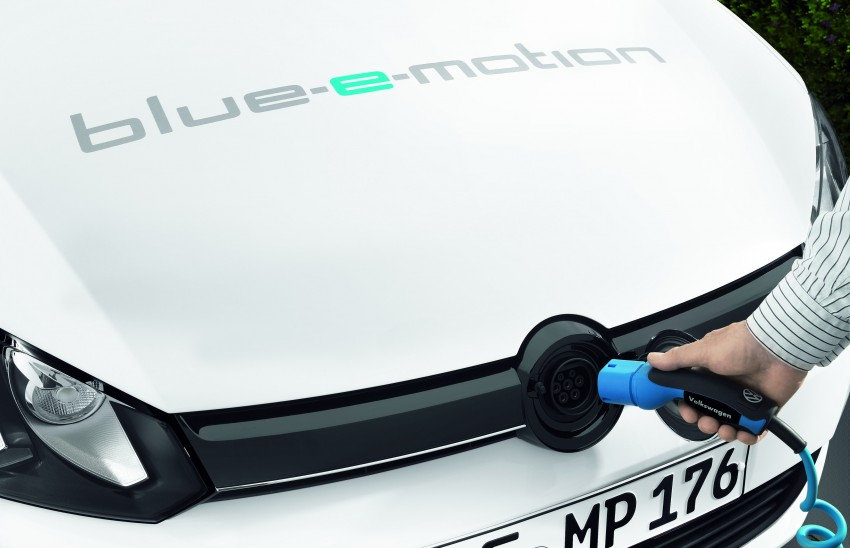 Electric Volkswagen Golf Blue-E-Motion prototype – a preview test drive in Wolfsburg, Germany Image #127827