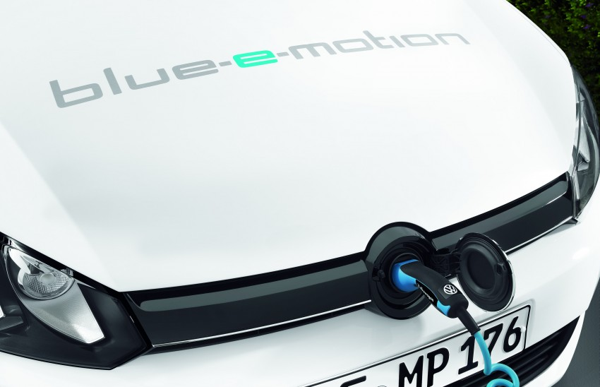 Electric Volkswagen Golf Blue-E-Motion prototype – a preview test drive in Wolfsburg, Germany Image #127822