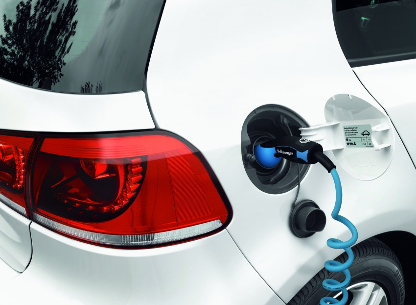 Electric Volkswagen Golf Blue-E-Motion prototype – a preview test drive in Wolfsburg, Germany Image #127820