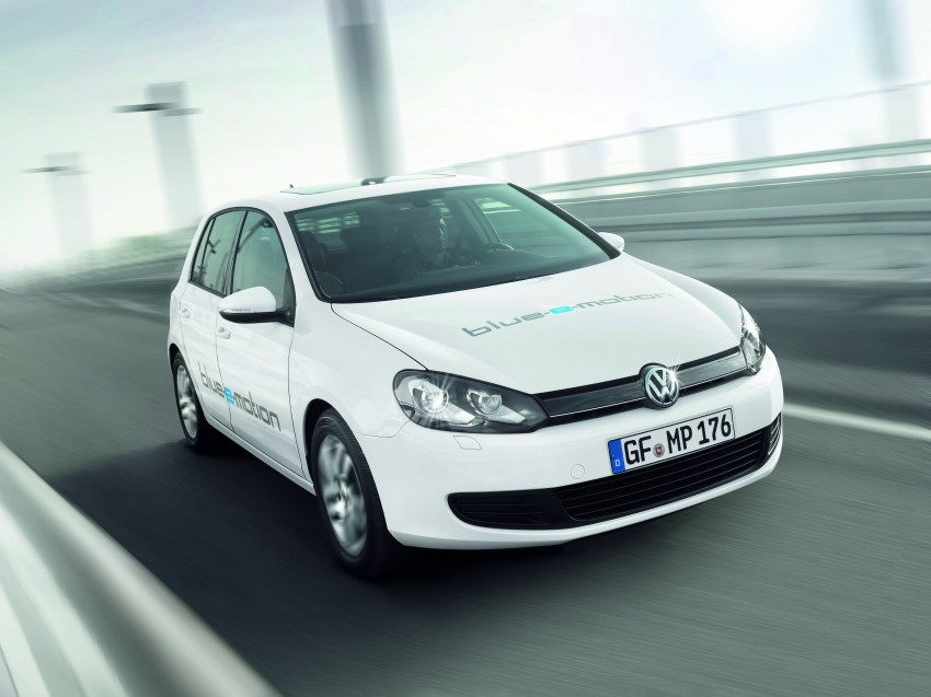 Electric Volkswagen Golf Blue-E-Motion prototype – a preview test drive in Wolfsburg, Germany Image #127832