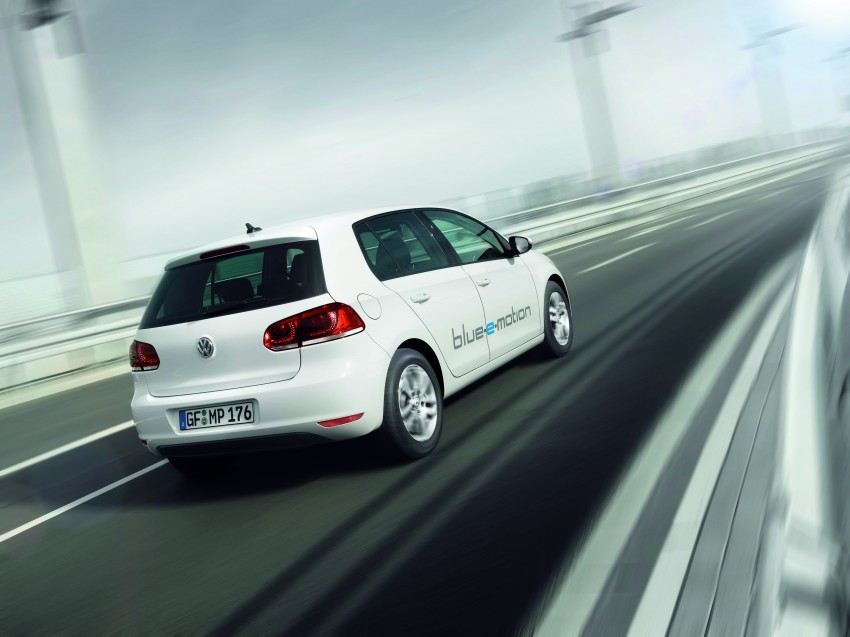 Electric Volkswagen Golf Blue-E-Motion prototype – a preview test drive in Wolfsburg, Germany Image #127828