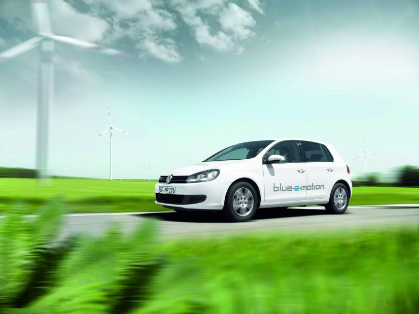 Electric Volkswagen Golf Blue-E-Motion prototype – a preview test drive in Wolfsburg, Germany Image #127831