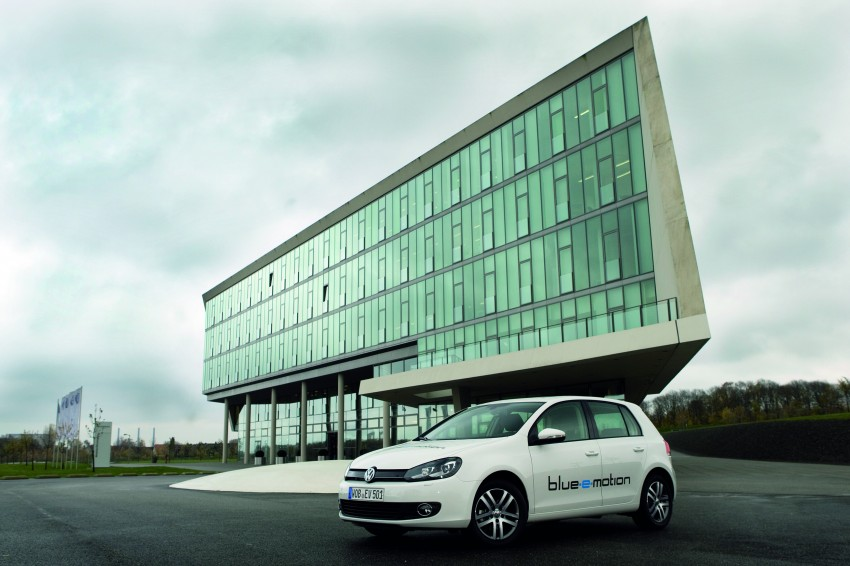 Electric Volkswagen Golf Blue-E-Motion prototype – a preview test drive in Wolfsburg, Germany Image #127834