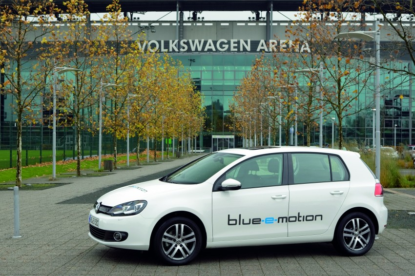 Electric Volkswagen Golf Blue-E-Motion prototype – a preview test drive in Wolfsburg, Germany Image #127826