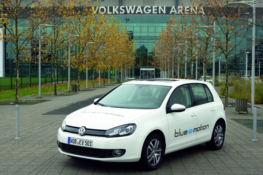 Electric Volkswagen Golf Blue-E-Motion prototype – a preview test drive in Wolfsburg, Germany Image #127825
