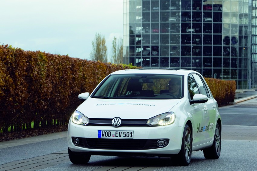 Electric Volkswagen Golf Blue-E-Motion prototype – a preview test drive in Wolfsburg, Germany Image #127835
