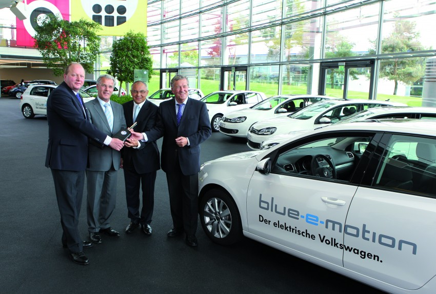 Electric Volkswagen Golf Blue-E-Motion prototype – a preview test drive in Wolfsburg, Germany Image #127837