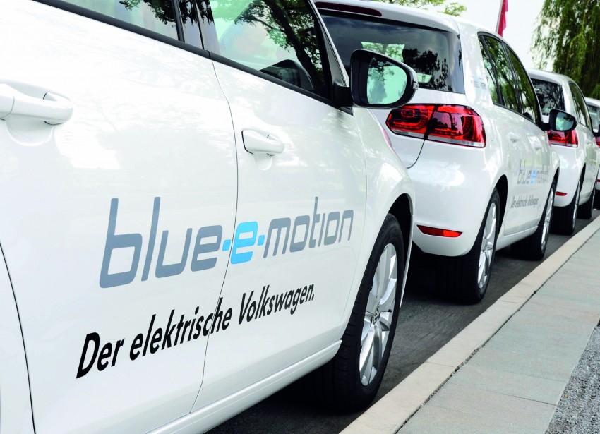 Electric Volkswagen Golf Blue-E-Motion prototype – a preview test drive in Wolfsburg, Germany Image #127839