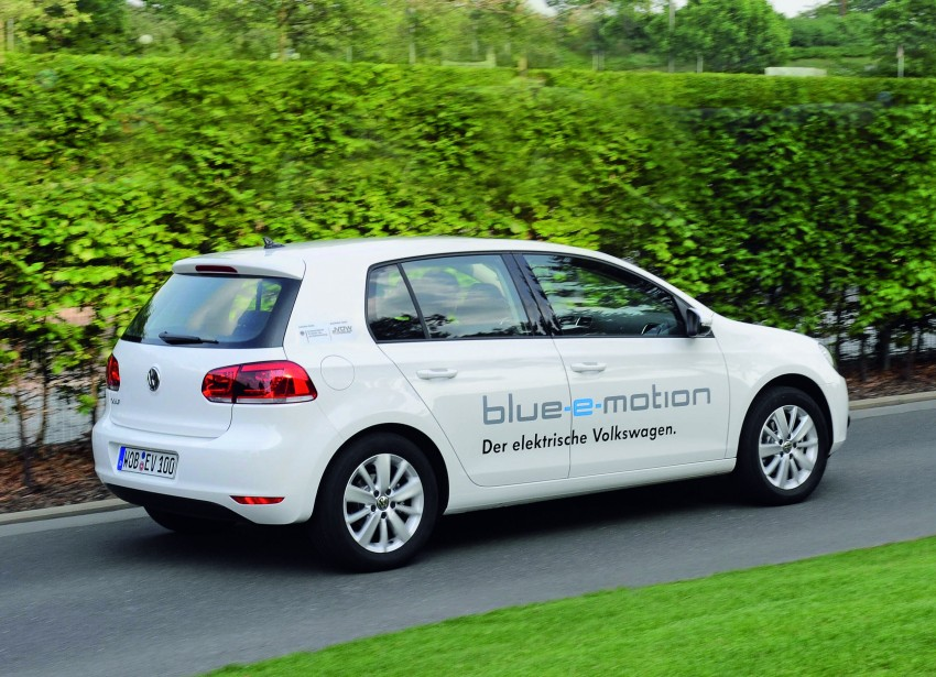 Electric Volkswagen Golf Blue-E-Motion prototype – a preview test drive in Wolfsburg, Germany Image #127841