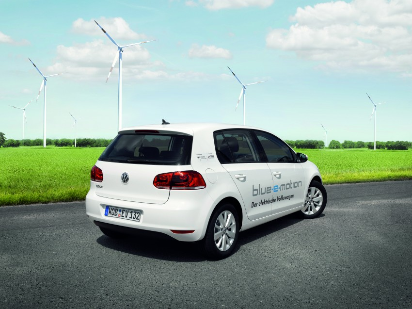 Electric Volkswagen Golf Blue-E-Motion prototype – a preview test drive in Wolfsburg, Germany Image #127850
