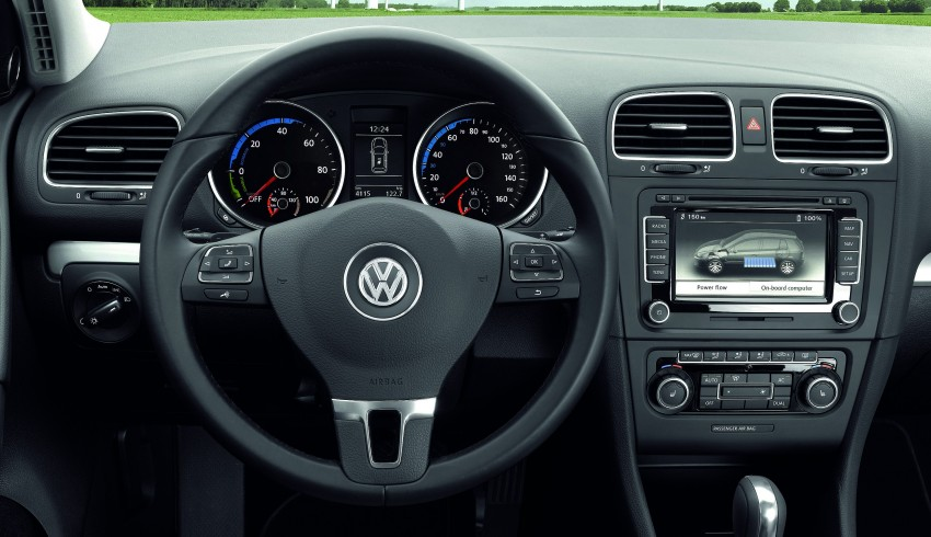 Electric Volkswagen Golf Blue-E-Motion prototype – a preview test drive in Wolfsburg, Germany Image #127842