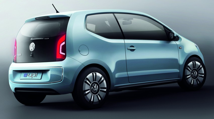 Volkswagen e-up! Concept: production car due in 2013 Image #70753
