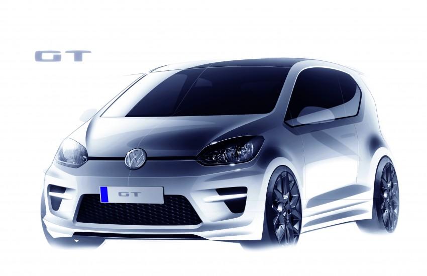 Volkswagen GT up! Concept at Frankfurt Motor Show 2011 Image #70577