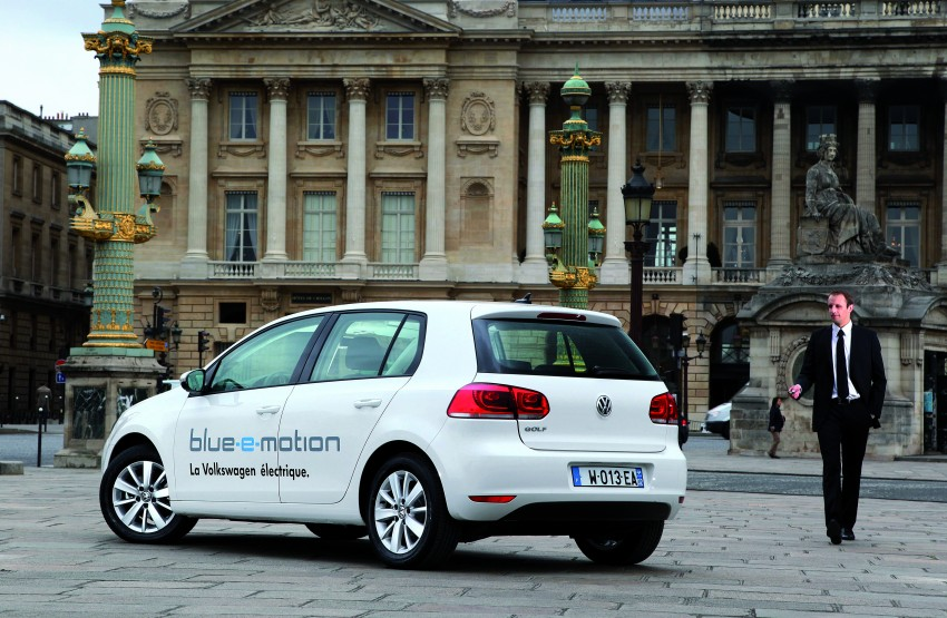Electric Volkswagen Golf Blue-E-Motion prototype – a preview test drive in Wolfsburg, Germany Image #127857