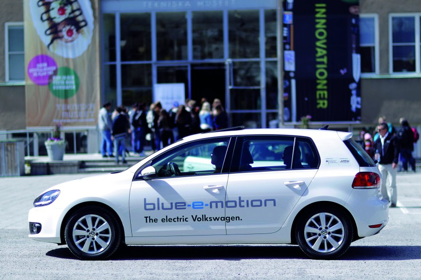 Electric Volkswagen Golf Blue-E-Motion prototype – a preview test drive in Wolfsburg, Germany Image #127864
