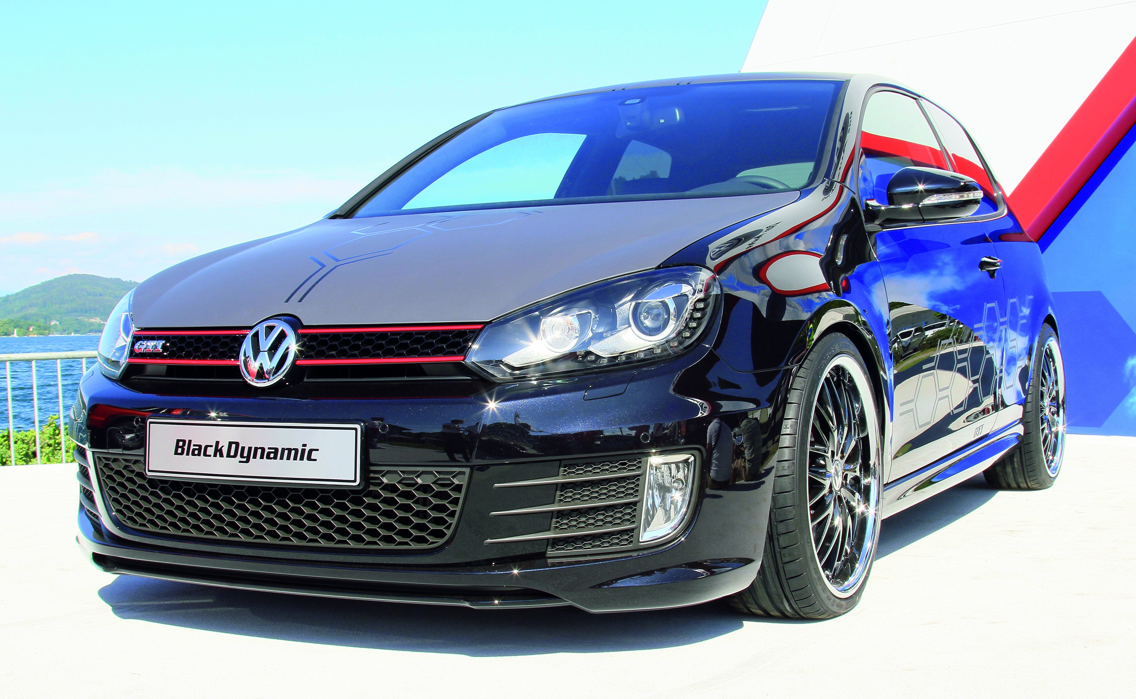volkswagen golf gti black dynamic 360 ps paul tan. Black Bedroom Furniture Sets. Home Design Ideas