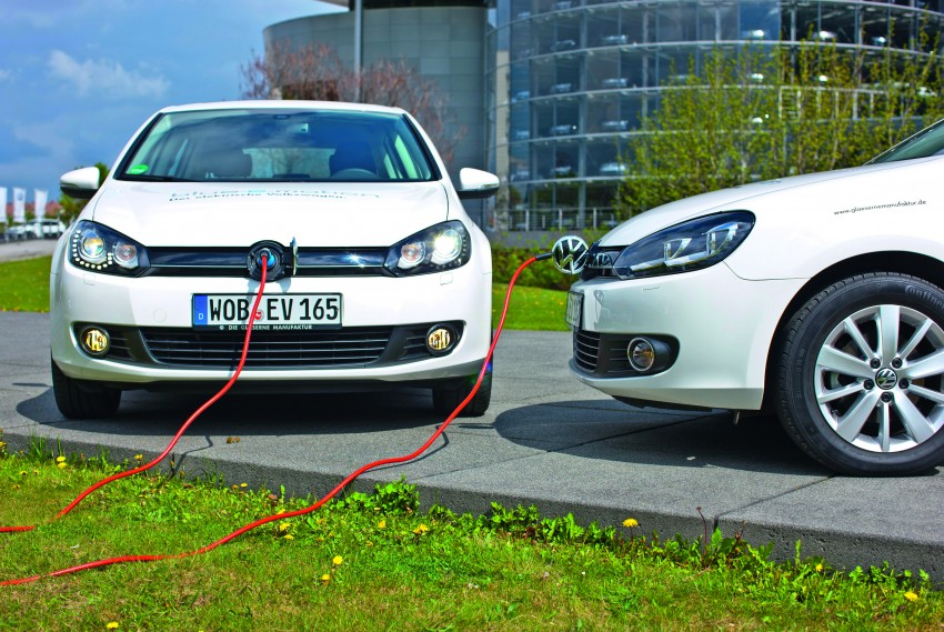 Electric Volkswagen Golf Blue-E-Motion prototype – a preview test drive in Wolfsburg, Germany Image #127859