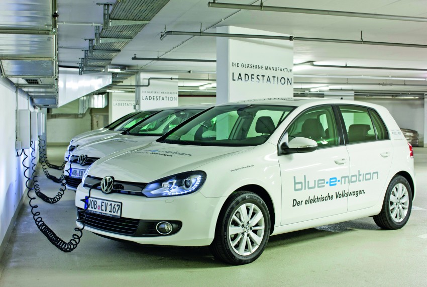 Electric Volkswagen Golf Blue-E-Motion prototype – a preview test drive in Wolfsburg, Germany Image #127862