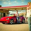 Das neue Volkswagen Beetle Cabriolet (USA-Version)