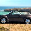 Das neue Volkswagen Beetle Cabriolet/70s Edition