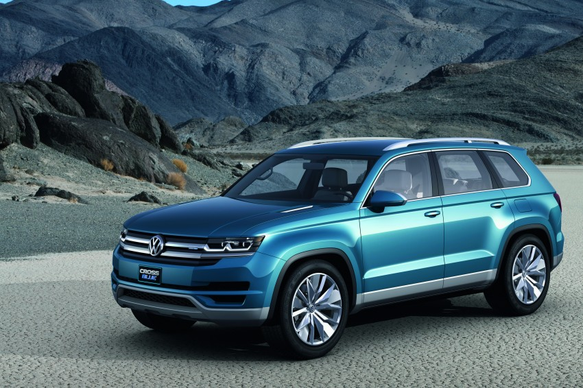 Volkswagen CrossBlue Concept: MQB-based 7-seater Image #149724