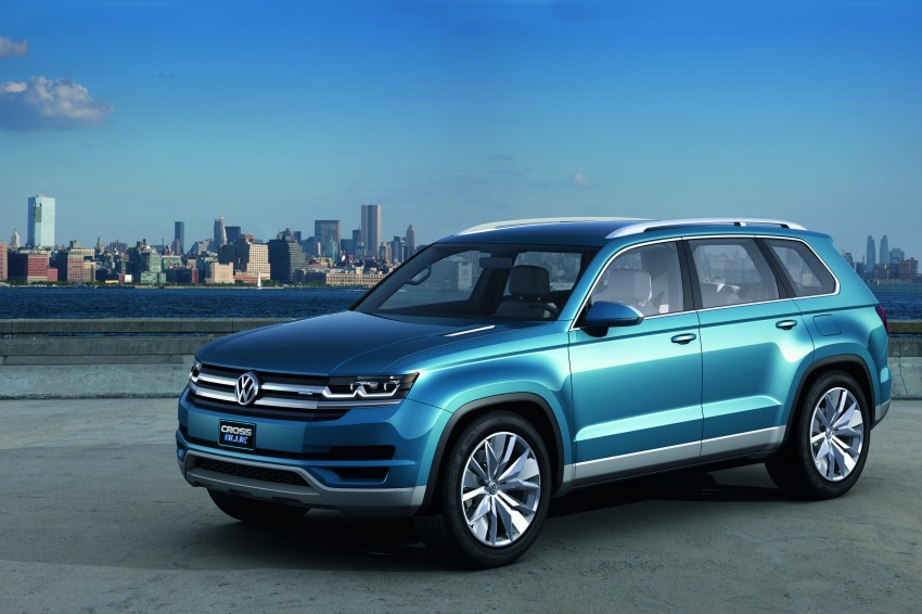 Volkswagen CrossBlue Concept: MQB-based 7-seater Image #149719