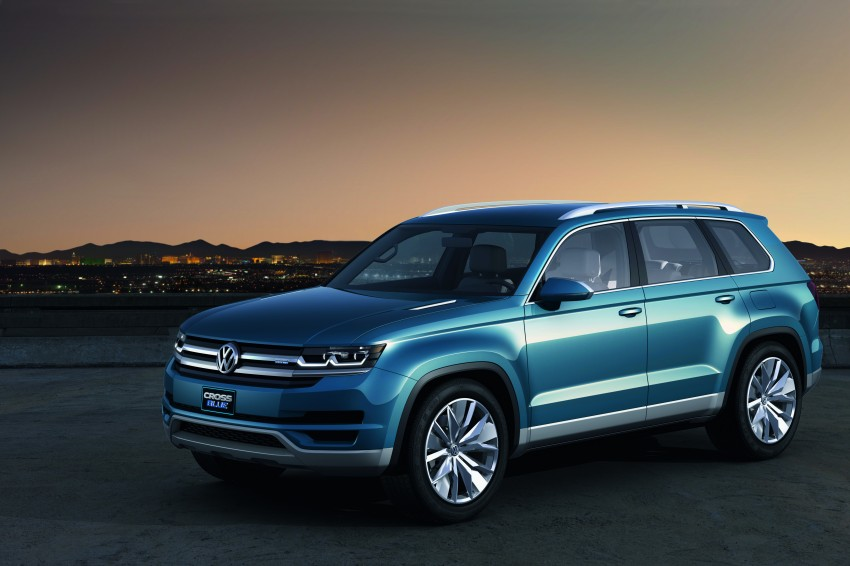 Volkswagen CrossBlue Concept: MQB-based 7-seater Image #149716
