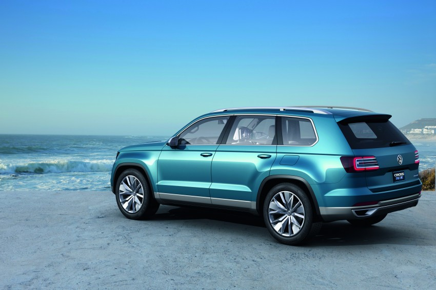 Volkswagen CrossBlue Concept: MQB-based 7-seater Image #149725