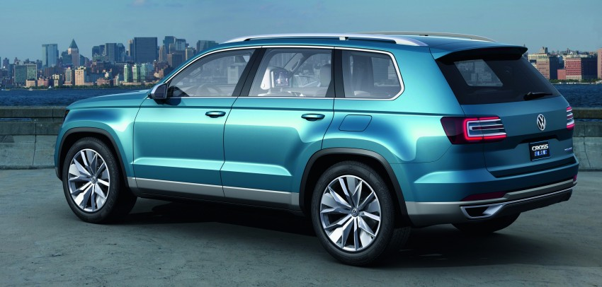 Volkswagen CrossBlue Concept: MQB-based 7-seater Image #149718